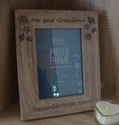 Me & Grandma Personalised Frame