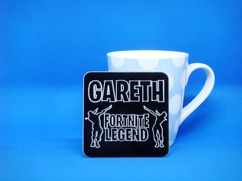 Personalised Dance Fortnite Legend Coaster - Mix and Match. Buy 2 Get 2 Free!