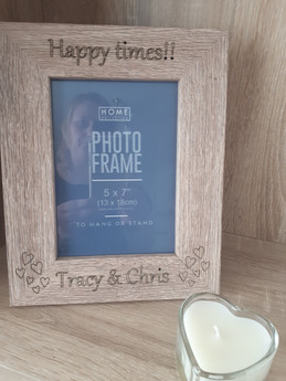 Personalised Happy Times  Frame