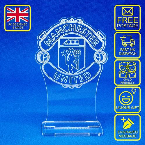 Man Utd Desk Trophy/Ornament