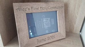 """Personalised First Holy Communion Frame 5"""" x 7"""""""