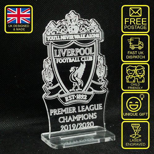 Liverpool Premier League Champions 2019/2020 Desktop Gift