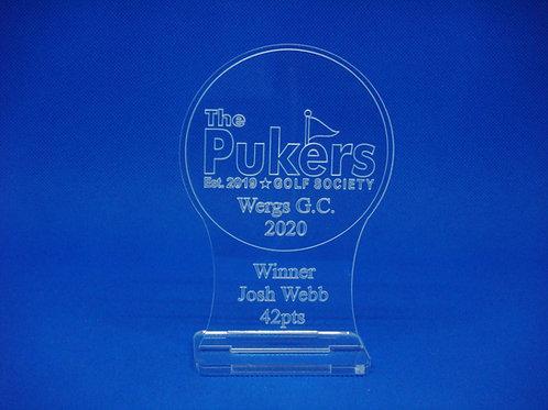 Personalised Desktop Golf Trophy