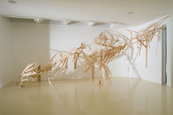Untitled, 2010, wood, installation v