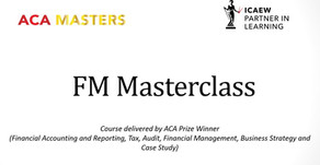 How to Pass the ICAEW ACA Financial Management (FM) Exam