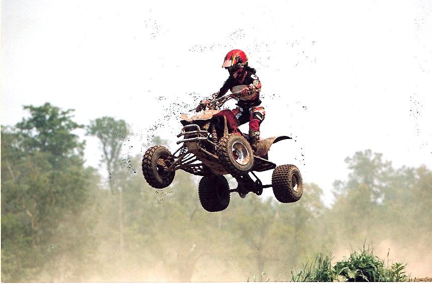 Krista Marie - Motocross 400EX