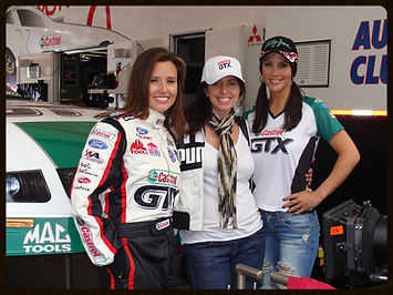 Krista Mare, Ashley Force Hood, Trey Fanjoy, NHRA, ESPN, Drag Racing