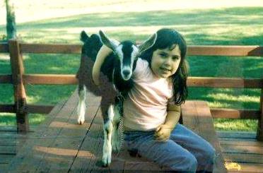 """KM's goat """"Pickles"""""""