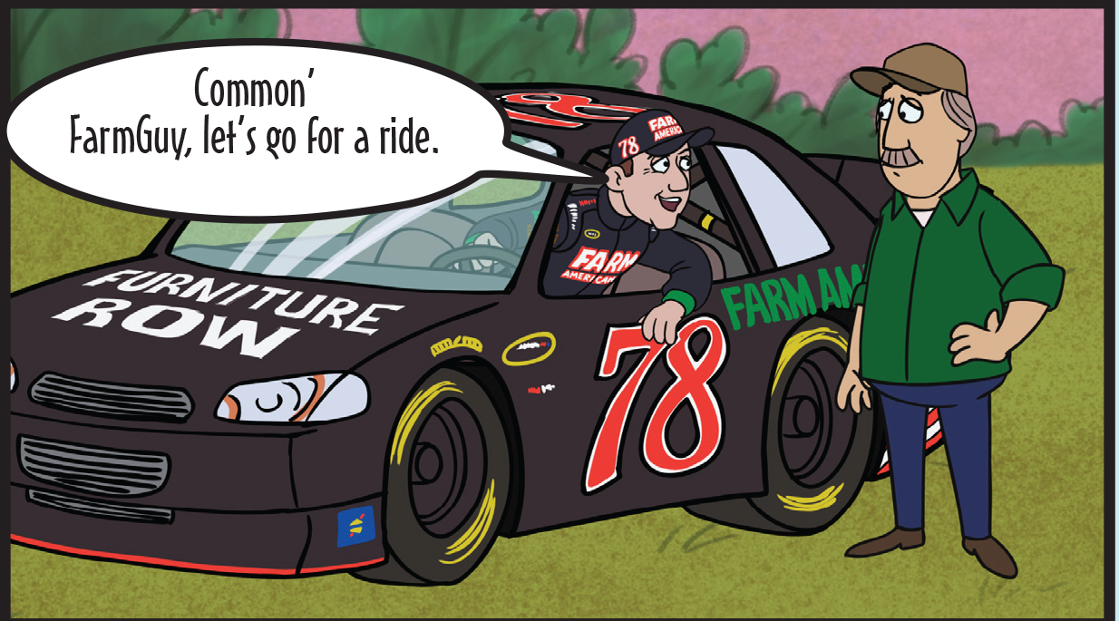 FarmGuy NASCAR Comic Book Vs 2.1-8 copy.