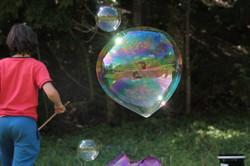 Atelier méga bulles