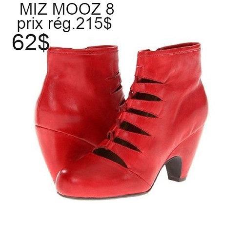 bottillons rouge Miz Mooz 8