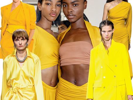 Comment porter le jaune, LA couleur de l'été!