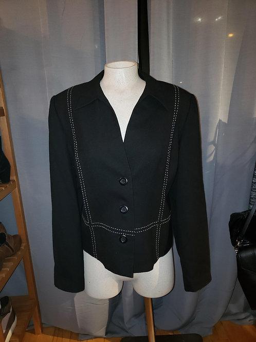 veston noir Simon Chang 14 black blazer