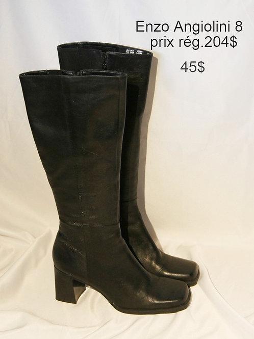 bottes noires Enzo Angiolini 8