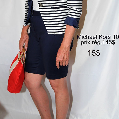 bermudas shorts bleu Michael Kors médium 10 ans