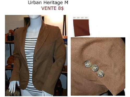 veston brun Urban Heritage Medium