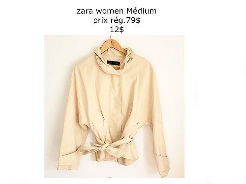 blouson jacket beige médium Zara Woman