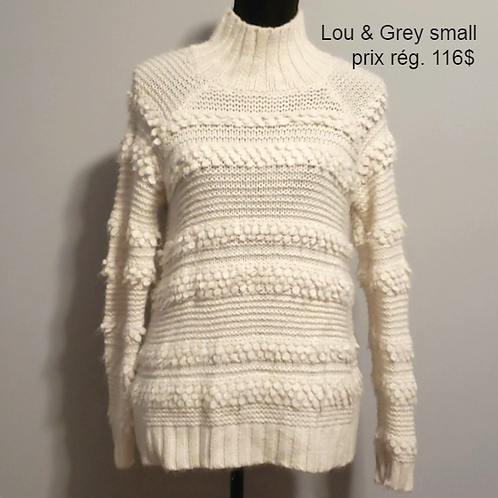 chandail Lou & Grey sweater xs /sm