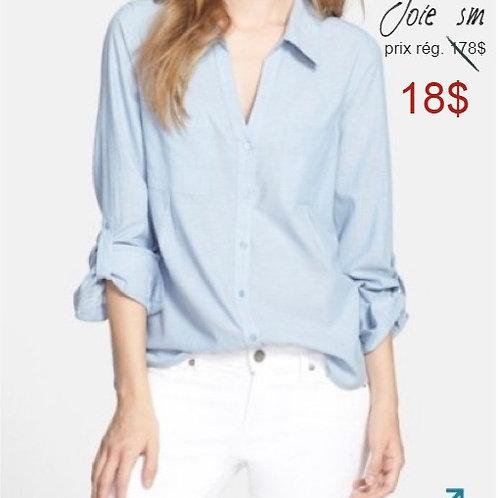 VENTE chemise bleue Joie Small button down shirt blue