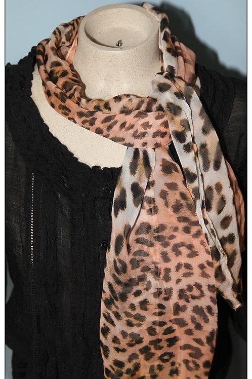 foulard 100% soie silk scarf