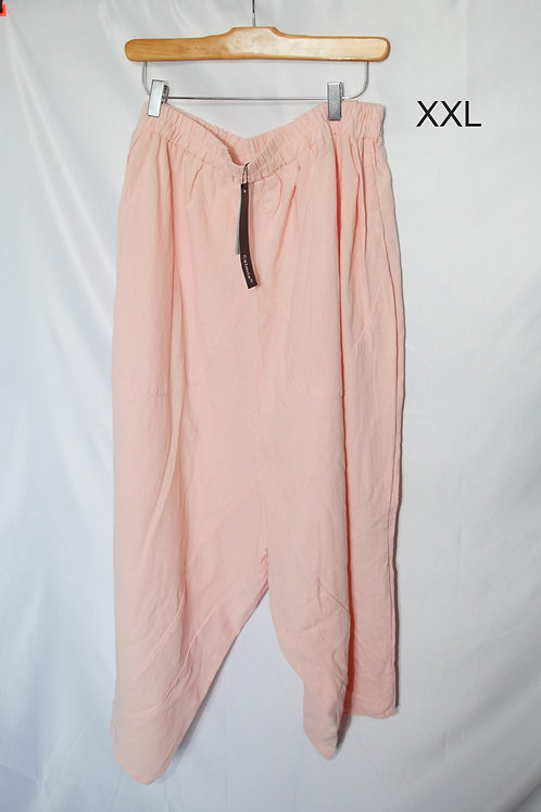 Pantalons harem rose Celmia xxl