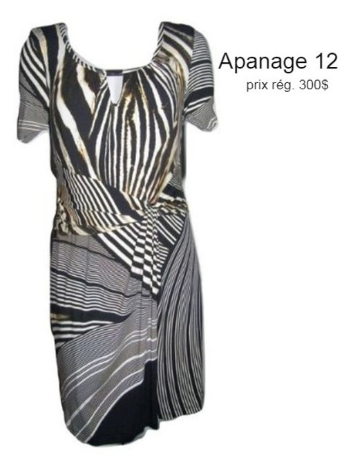 robe imprimé animal Apanage 12 animal print dress size 12