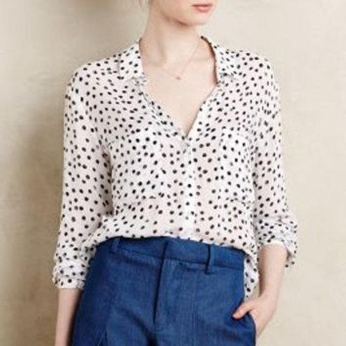 blouse Cloth & Stone large à pois