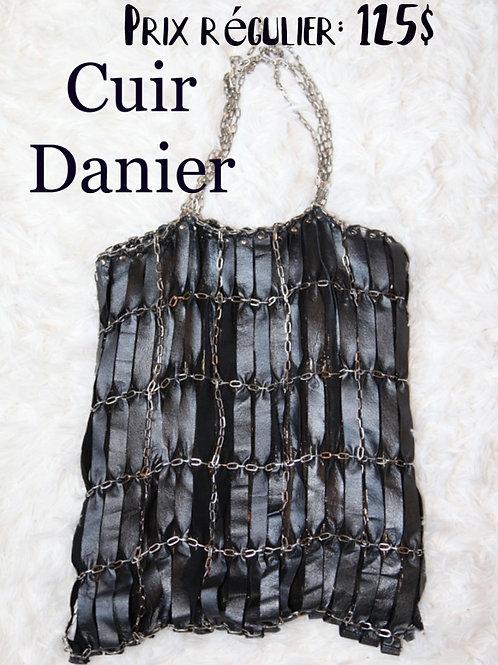 sac cuir Danier leather bag