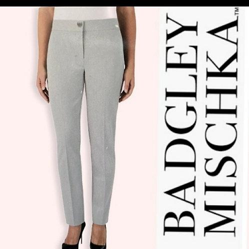 pantalons gris Badgley Mischka 10 ans