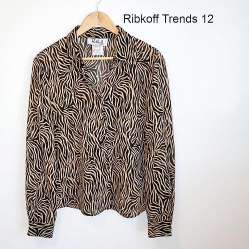 blouse imprimé Ribkoff Trends 12 ans large