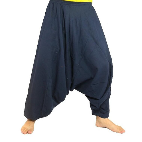 pantalons bleus harem Zanzéa XL