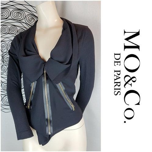 veston small Mo&CO de Paris small black blazer