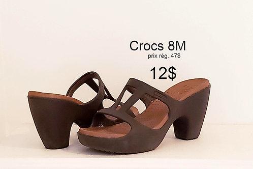 sandale Crocs brunes 8M