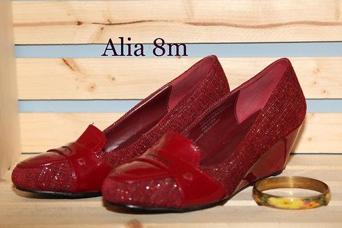 souliers Alia rouges 8M shoes
