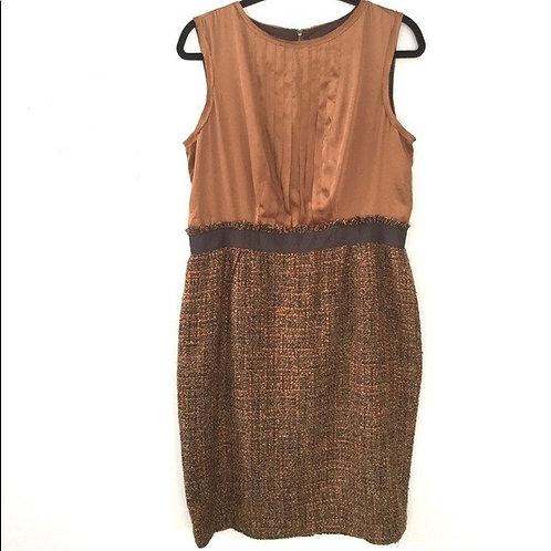 robe brune et bronze Jones New York 14 ans xl