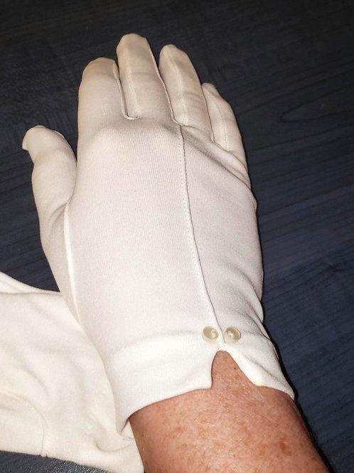 gants vintage blancs XS-Small