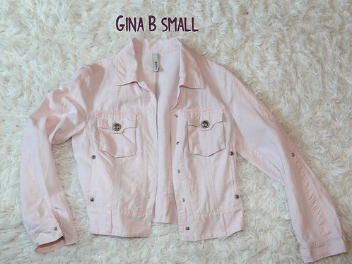 veste Gina B small médium rose pâle