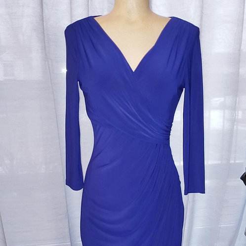 Robe bleu classique Ralph Lauren dress