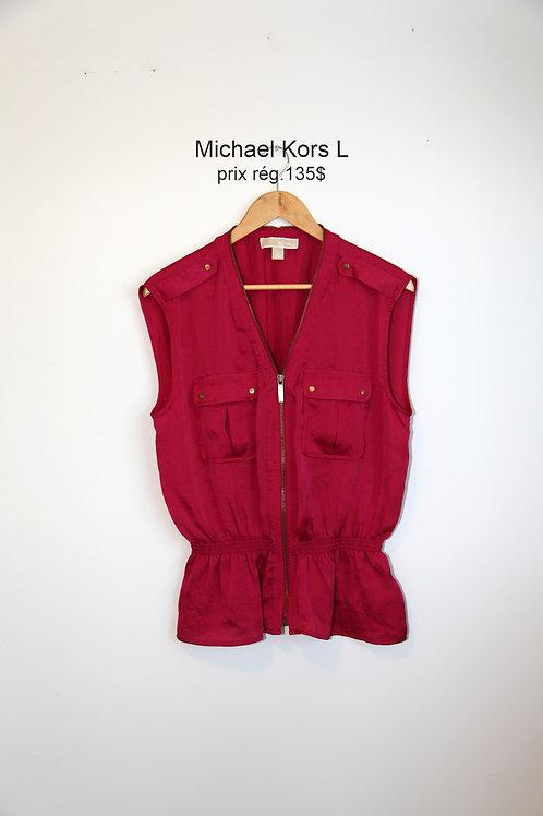 top rose Michael Kors large pink