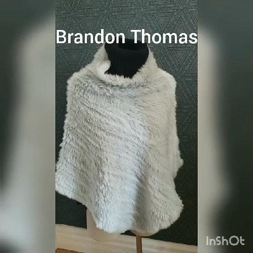 poncho bleu Brandon Thomas lapin