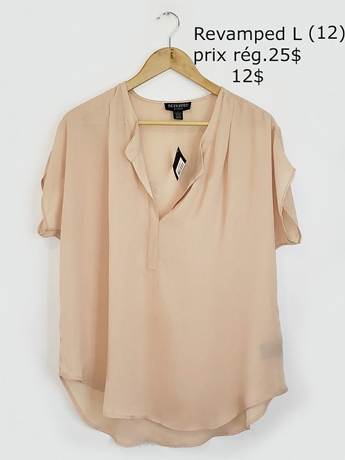 blouse beige large Revamped