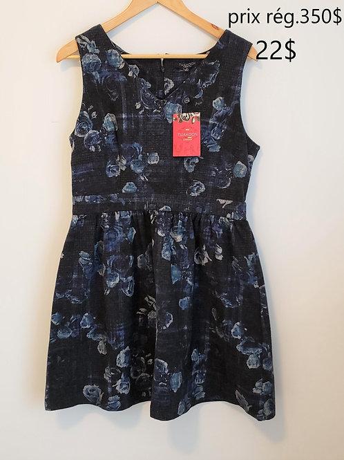 Thakoon robe bleue et noire neuve 12 ans