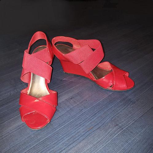 sandales rouge talon plateforme Predictions 8