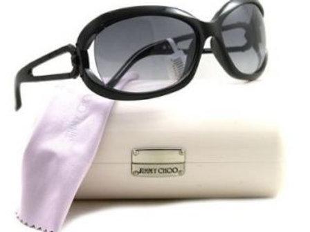 lunettes de soleil Jimmy Choo noires