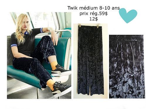 pantalons velours bleu marine avec poches Twik médium