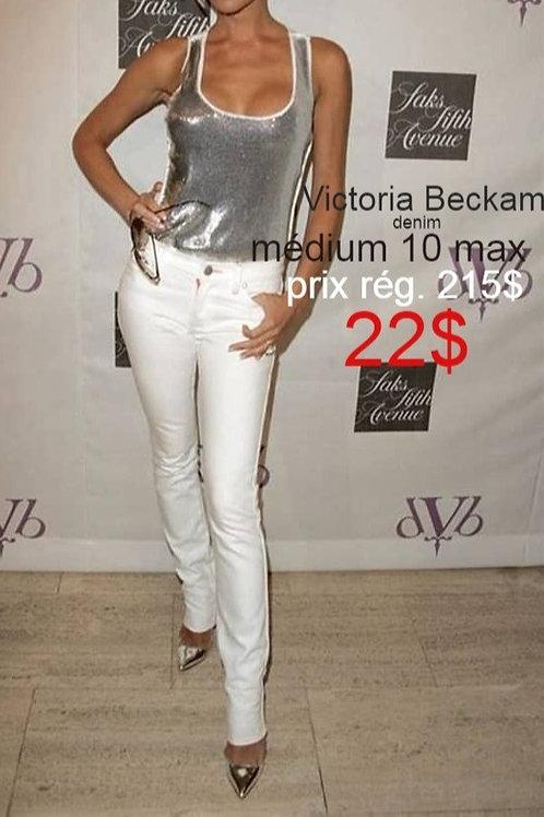 Denim by Victoria Beckham blanc 32