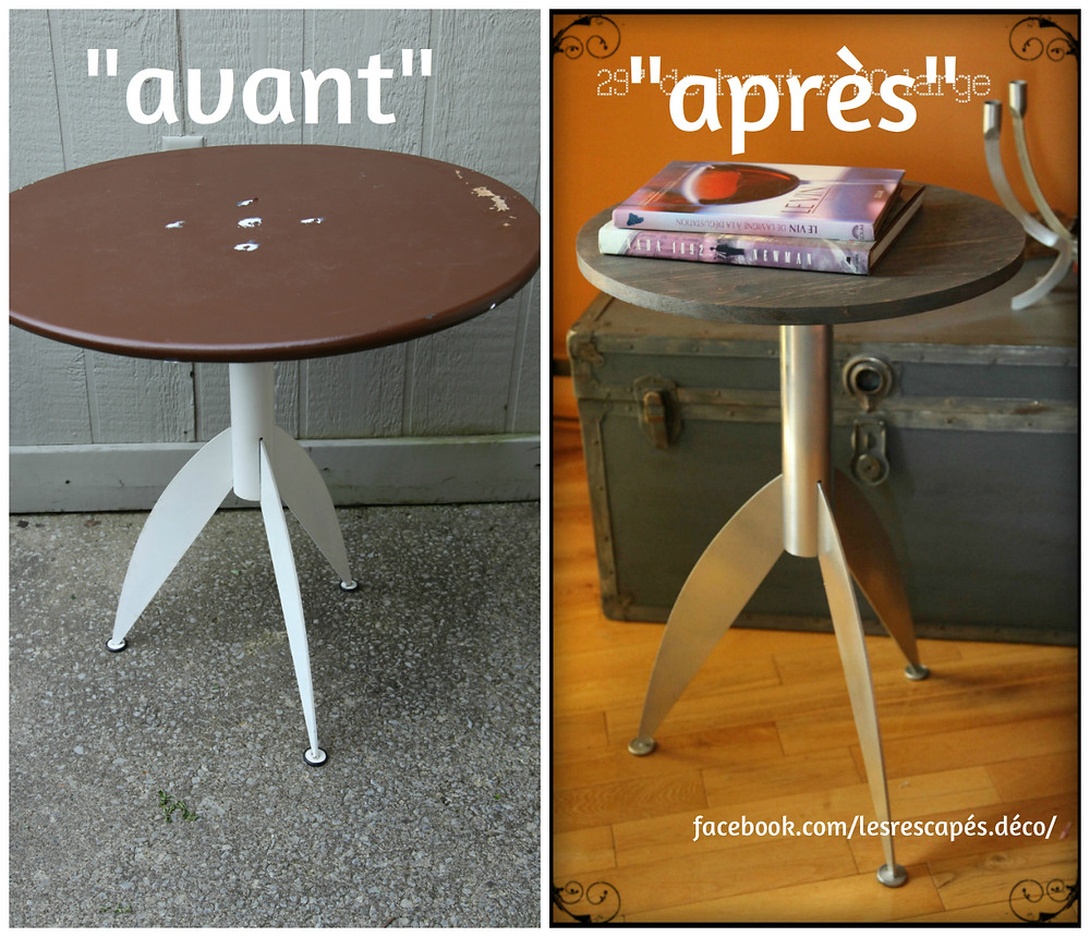 La table Spoutnik des Rescapés