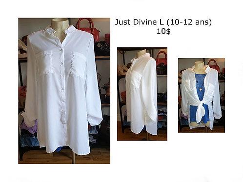 Tunique blanche Just divine large