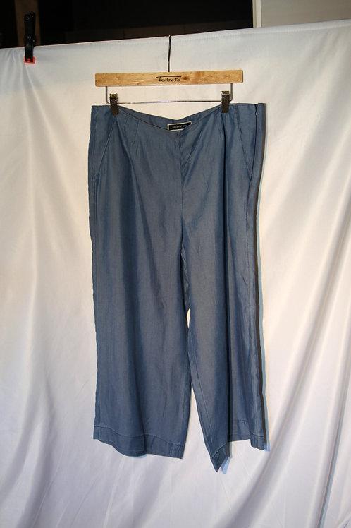 pantalons large bleu 14 ans Mélanie Lyne