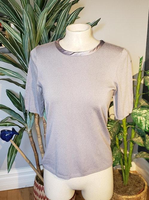 top t-shirt tricot gris argent médium Jacob